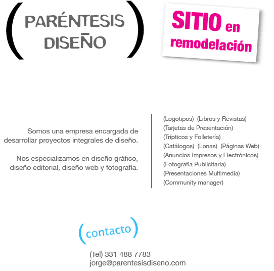 parentesis dise�o